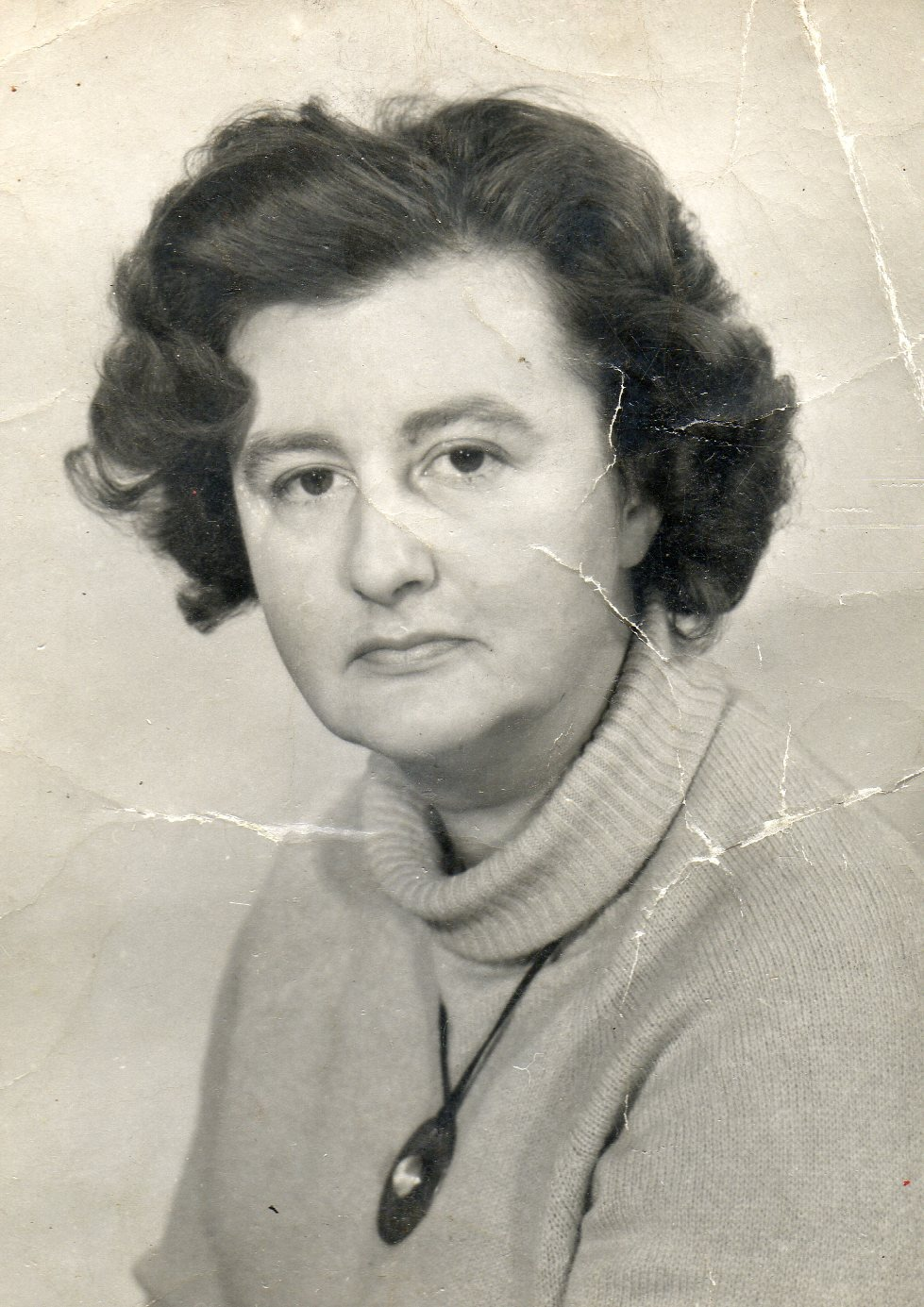 Photograph taken of June Almeida in 1968