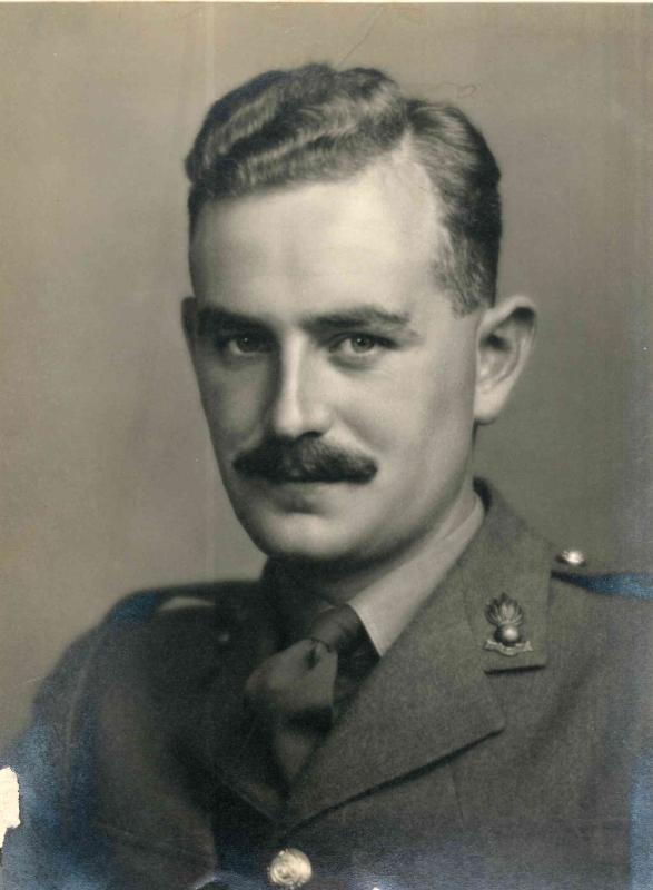 Rodney Porter during World War II