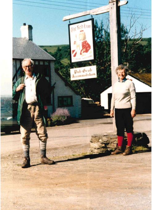 Rodney Porter with Julia